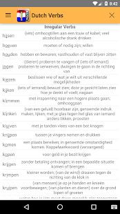 Holandské Verbs - náhled