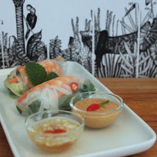 Goi Cuon – Vietnamese-style spring rolls