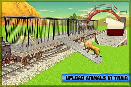 火車運輸:動物園裡的動物