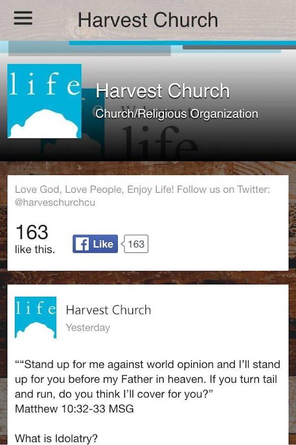 Harvest Church Illinois- screenshot