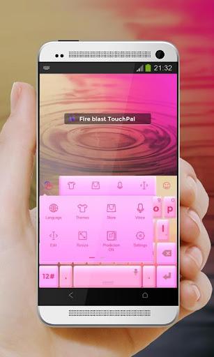 玩免費個人化APP|下載爆炸起火 TouchPal 主題 app不用錢|硬是要APP