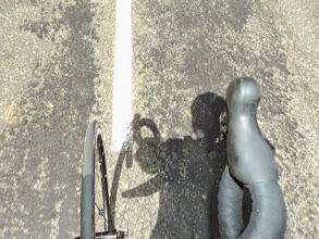 Photo: Mi sombra y yo en Larrau
