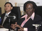 Rejoice Mabudafhasi, right, is tipped to become SA's ambassador in Zimbabwe.
