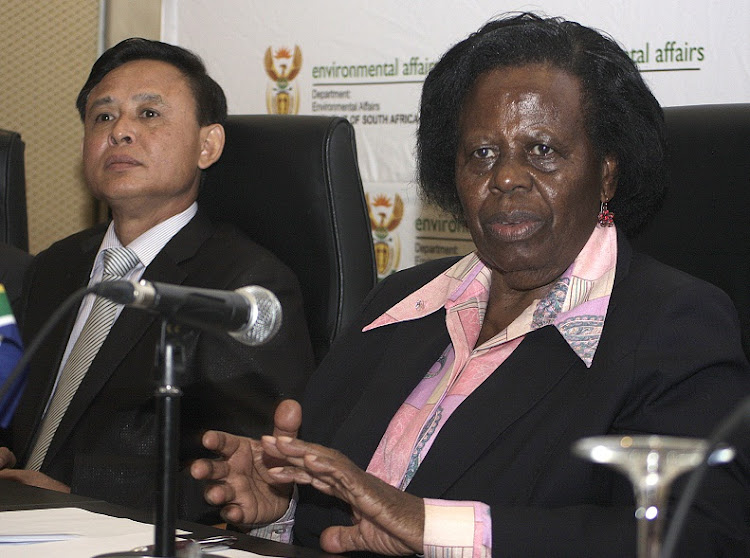 Rejoice Mabudafhasi tipped to replace Mbete as SA ambassador in Zimbabwe