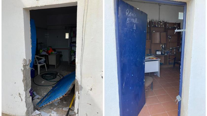 Actos vandálicos en Cabo de Gata.