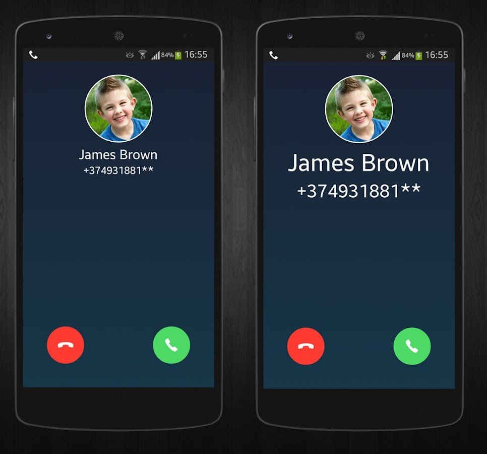 large call screen android apps on play