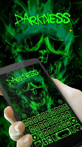Darkness GO Keyboard theme Screenshot