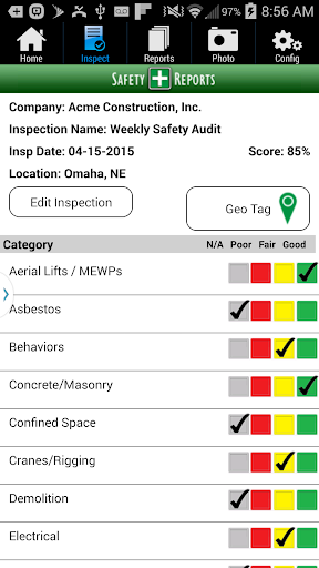 Safety-Reports