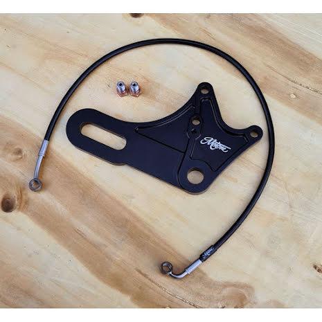 Motone Rear Brake Caliper Relocation Bracket Kit - Street Twin/SS900/T100/T120 ABS