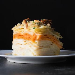 100-Layer Root Vegetable Gratin