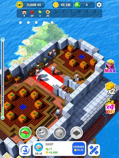 Tower Craft 3D - Idle Block Building Game apkdebit screenshots 10