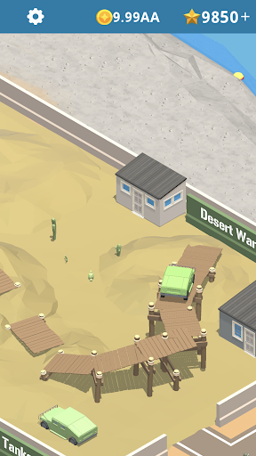 Idle Army Base - screenshot