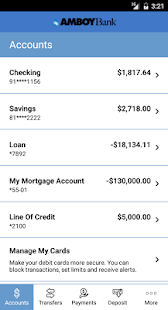 Amboy Bank's Mobile Banking- screenshot thumbnail