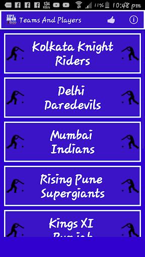 IPL 2018 Schedule 1.5 screenshots 3