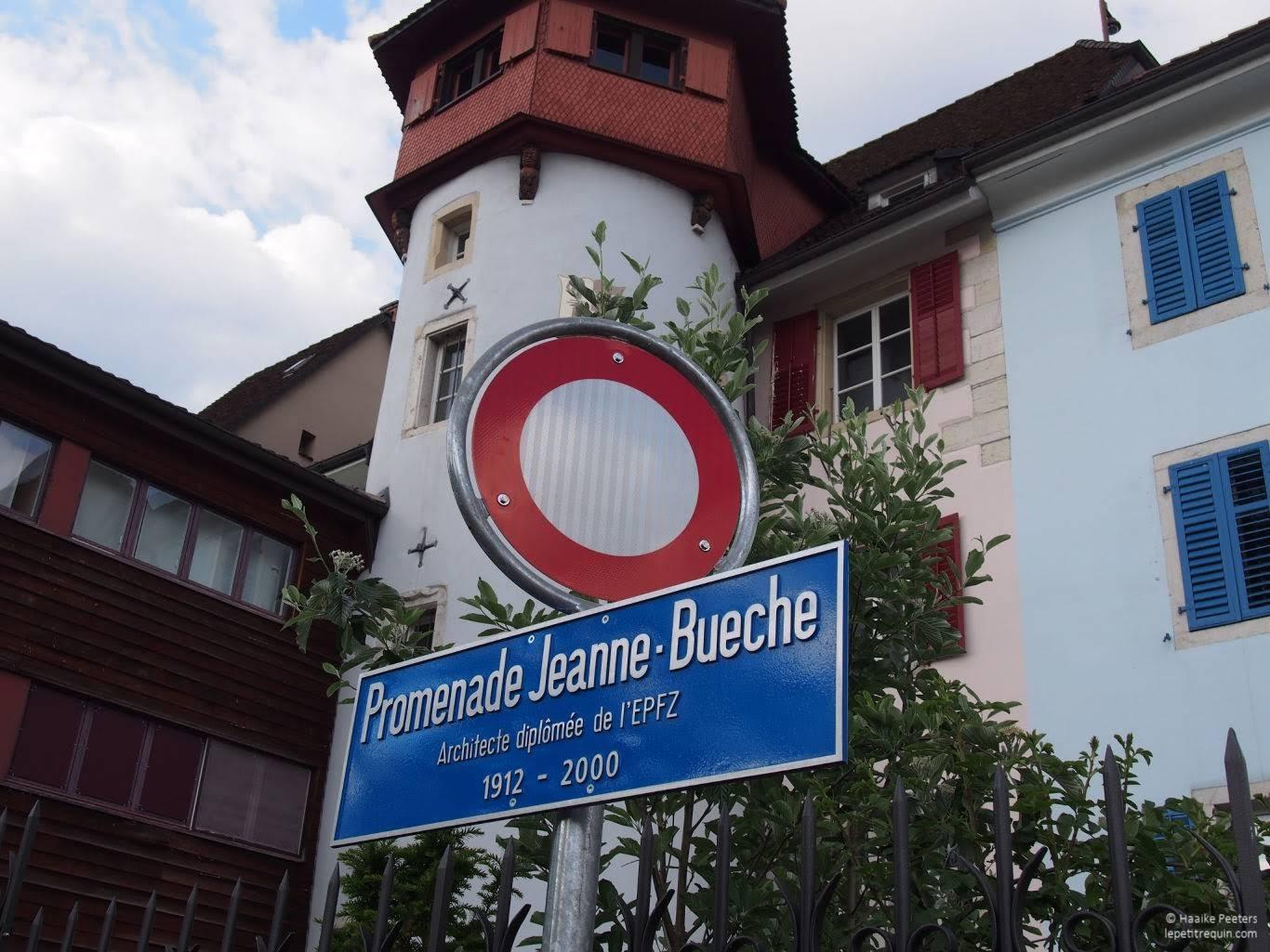 Promenade Jeanne Bueche Delémont (Le petit requin)