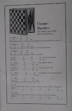 Photo: Uhlig catalogue c1913, p.5  Draughts boards with 'Mill (and Puff) [other games] and Draughtsmen'  The drawing is identical to the later catalogue as is the reference numbers/sizes etc other than layout.   In subsequent images/comparisons, I will not bother to state the 'identical' aspects - only differences. So - assume the pages ae the same unless stated differently.