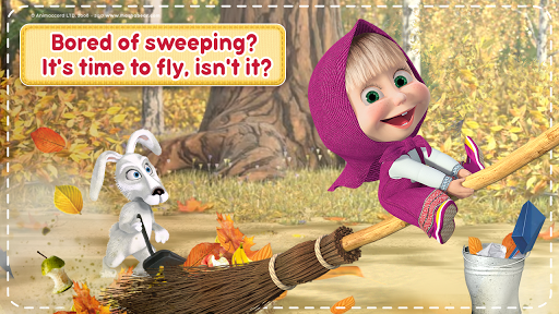 Masha and the Bear: House Cleaning Games for Girls  screenshots 8