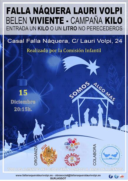 Campañas solidarias Naquera - Lauri Volpi
