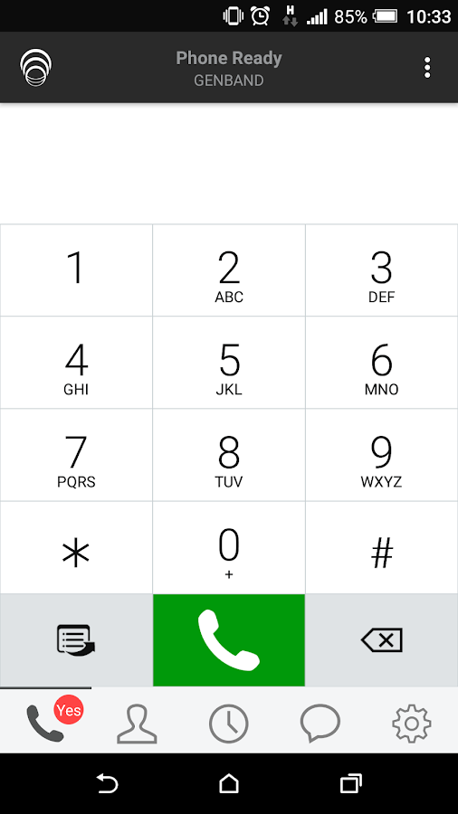 GENCom Mobile Communications- screenshot