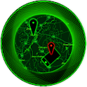 Mobile phone tracker(MobTrack) icon