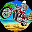 Moto Beach Jumping 3D icon