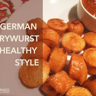 German Currywurst – Healthy Style.