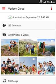 Verizon Cloud Screenshot 1