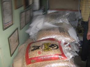Photo: Mi bodega donde almaceno la comida y las medicinas para mis palomas.