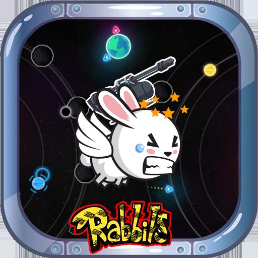 Rabbits War Vs Space Invasion