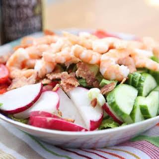 Shrimp and Bacon Garden Salad.