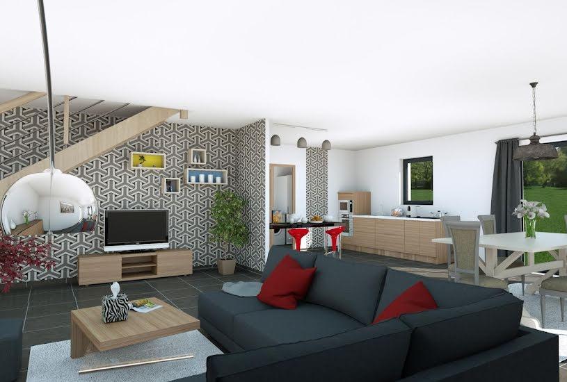 Vente Terrain + Maison - Terrain : 325m² - Maison : 118m² à Blain (44130)