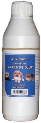 Allvitamin för Växande Djur 250ml