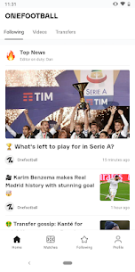 OneFootball – Soccer Scores Mod 13.0.10.12905 Apk [Unlocked] 1