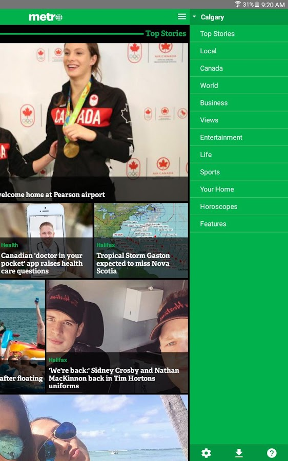 Metro News Canada- screenshot