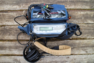Photo: This PortaBarce AR-7 bag is not designed for both SD7 recorder and external mixer. But if XLR plugs are short out from the mixer it can be easily fitted in external RM/multi bag
