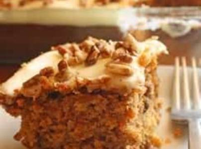 Golden Carrot Cake With Carrot Halwa Recipe