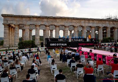 """Veel publiek langs de kant van de weg in Giro: """"Soms lijkt het of alles normaal is"""""""