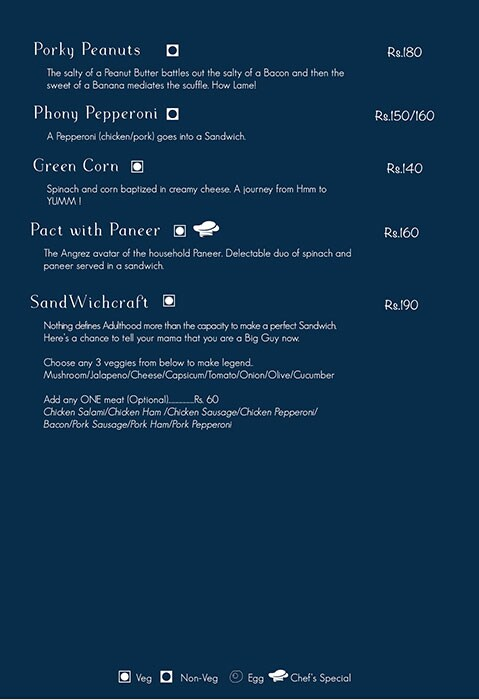 Here & Now menu 9