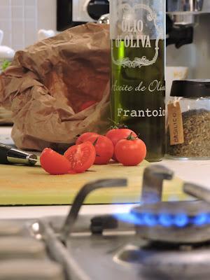 Pachino con olio e basilico di Eleonora_Mos