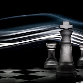 Chess by Mor Wei Huat - Abstract Light Painting