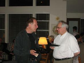 Photo: Professors Louis Narens and John Dickhaut