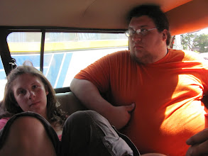Photo: Riding in the back of the truck.
