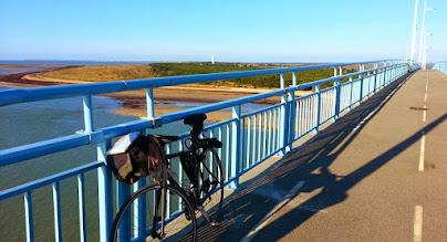 Photo: Sur le pont de Noirmoutier