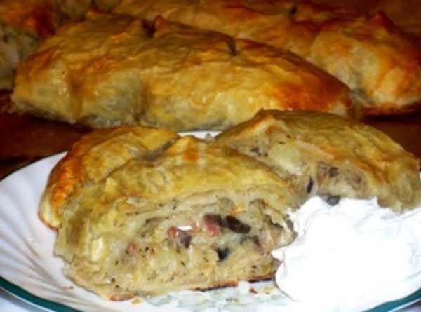 Potato, Bacon And Sauerkraut Strudel Recipe