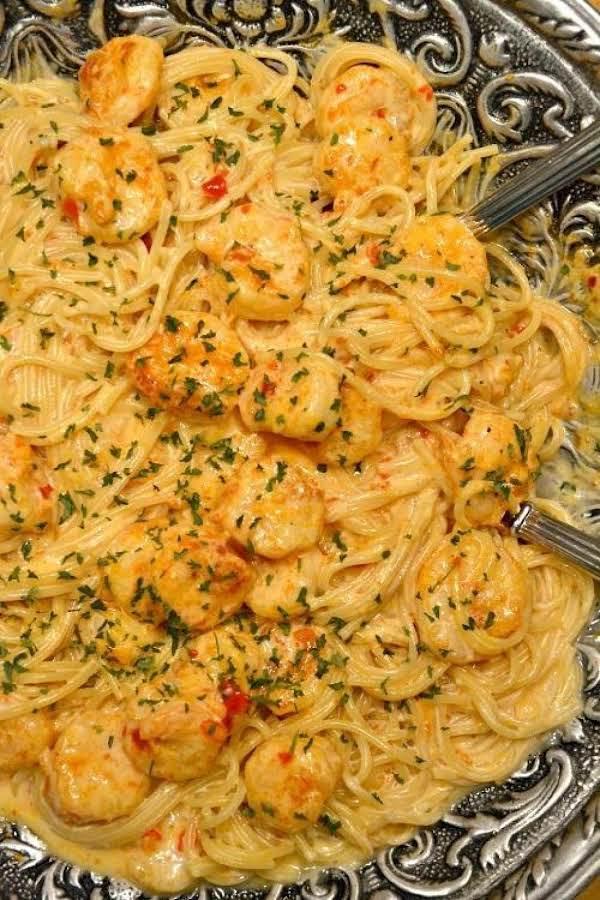 Bang Bang Shrimp And Pasta Recipe