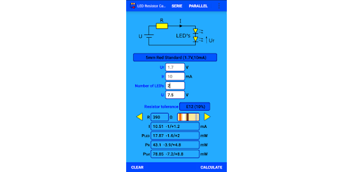 How To Calculate The Value Of Resistor For Led Leds Circuits