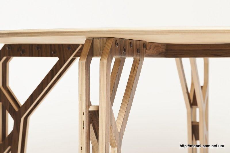 Детали стола крупным планом