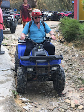 Photo: Poppa-Gary ; with L-plate on ATV training track