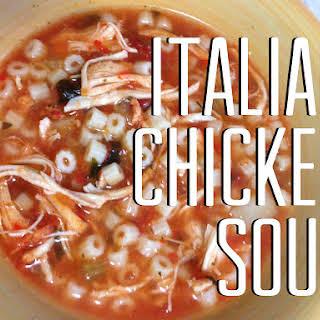 Crock Pot Italian Chicken Soup.