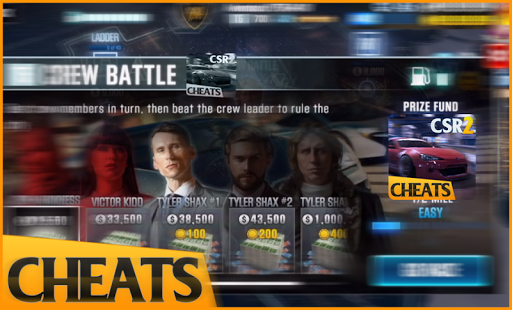 Download Cheats for CSR Racing 2 Google Play softwares